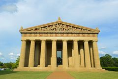 Parthenon i Nashville, Tennessee, USA Arkivbild