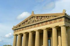Parthenon i Nashville, Tennessee, USA Arkivbilder