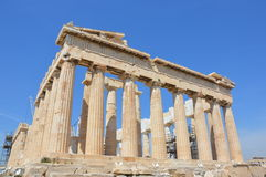 Parthenon left angle Royalty Free Stock Photo