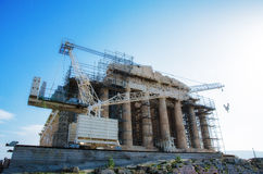 Parthenon Stock Photography