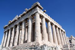 The parthenon monument Royalty Free Stock Photo