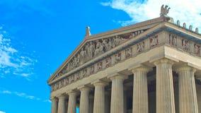 Parthenon Nashville stockbilder