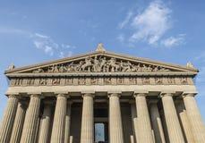 Parthenon, Nashville lizenzfreies stockfoto