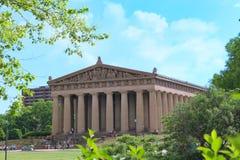 Parthenon Nashville fotos de archivo libres de regalías