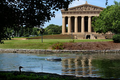 Parthenon in Nashville Stock Photo