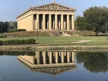 Parthenon Nashville Tennessee Royaltyfri Bild