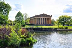 Parthenon in Nashville, Tennessee royalty-vrije stock afbeeldingen