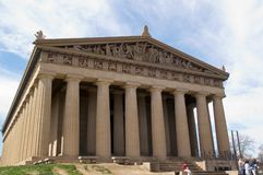 The Parthenon, Nashville, Tennessee stock image