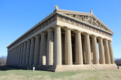 Parthenon Nashville, Tennessee Zdjęcia Royalty Free