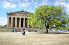Parthenon in Nashville, Tennessee Royalty-vrije Stock Foto