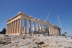 Parthenon no Acropolis, Atenas Imagens de Stock