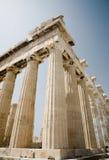 Parthenon op de Akropolis, Athene Stock Foto