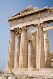 Parthenon op de Akropolis, Athene Stock Foto's