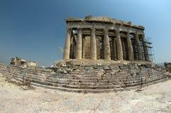Parthenon, pescado-ojo Fotografía de archivo