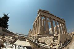 Parthenon, pescado-ojo Imagen de archivo libre de regalías