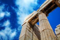 Parthenon przy akropolem w Ateny, Grecja Obraz Royalty Free