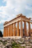 Parthenon przy akropolem w Ateny, Grecja Zdjęcia Royalty Free