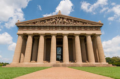 Parthenon Replica Nashville. Life size replica of the Parthenon in Nashville, Tennessee stock photo