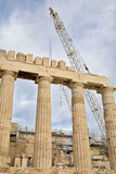 Parthenon Restoration Royalty Free Stock Image