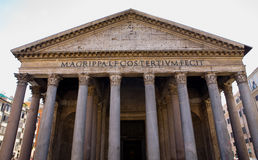Parthenon of Rom Exterior Royalty Free Stock Images