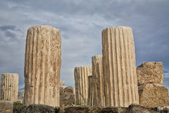 Parthenon Rubble Stock Photography