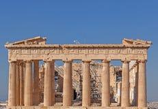 Parthenon temple on Acropolis Royalty Free Stock Photography