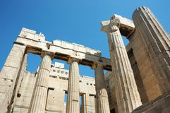 Parthenon temple,Acropolis,Athens,Greece Stock Photography