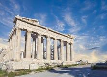 Parthenon temple in Acropolis Royalty Free Stock Image