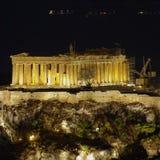 Parthenon temple, Acropolis of Athens Stock Images