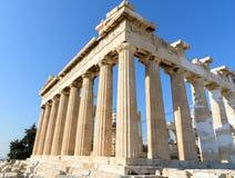Parthenon temple at the Acropolis in Athens, Greece Stock Photos