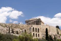 Parthenon temple  on the Acropolis Stock Photo