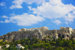 Parthenon temple in Acropolis at Athens, Greece Royalty Free Stock Image