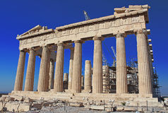 Parthenon Temple, Acropolis, Athens, Greece Stock Photos