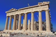 Parthenon Temple, Acropolis, Athens, Greece Stock Photos