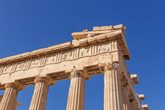 Parthenon temple on Acropolis Stock Photo