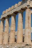 Parthenon temple in Acropolis Hill in Athens, Greece Stock Photography