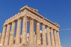 Parthenon temple on Acropolis Royalty Free Stock Images
