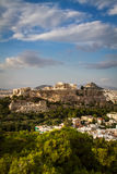 Parthenon, temple on the Athenian Acropolis Royalty Free Stock Images