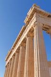 Parthenon temple in Athens Stock Photos