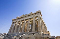Parthenon temple in Athens, Greece Stock Photography