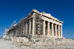 Parthenon Temple,  Athens, Greece Stock Photos