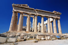Parthenon temple, Athens, Greece Royalty Free Stock Photo