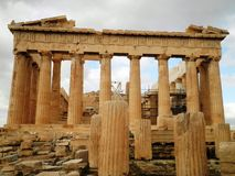 Parthenon Temple Athens Greece Royalty Free Stock Photography