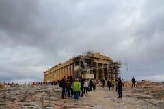 Parthenon Temple Stock Photography