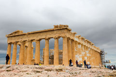 Parthenon Temple Royalty Free Stock Photography