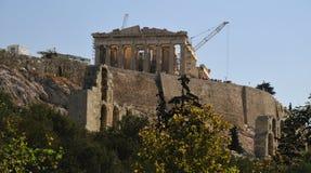 Parthenon temple goddess Athens Stock Images