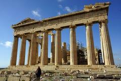 Parthenon van de Akropolis Royalty-vrije Stock Foto's