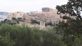 Parthenon view stock photography