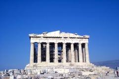 Parthenon - visión frontal Foto de archivo libre de regalías