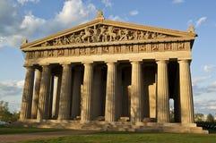 Parthenon (vista delantera) imágenes de archivo libres de regalías
